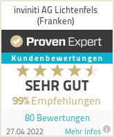 Erfahrungen & Bewertungen zu inviniti AG Lichtenfels (Franken)