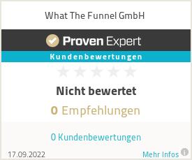 Erfahrungen & Bewertungen zu What The Funnel GmbH