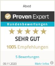 Erfahrungen & Bewertungen zu Abed