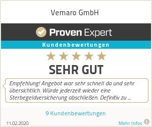 Erfahrungen & Bewertungen zu Vemaro GmbH