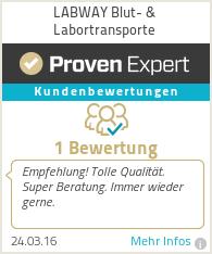 Erfahrungen & Bewertungen zu LABWAY Blut- & Labortransporte