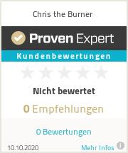 Erfahrungen & Bewertungen zu Chris the Burner