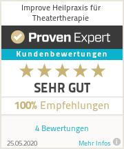 Erfahrungen & Bewertungen zu Improve Heilpraxis für Theatertherapie