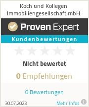 Erfahrungen & Bewertungen zu  Koch und Kollegen Immobiliengesellschaft mbH