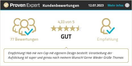 Kundenbewertung & Erfahrungen zu Brand your Cap. Mehr Infos anzeigen.
