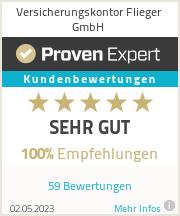 Erfahrungen & Bewertungen zu Versicherungskontor Flieger GmbH