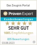 Erfahrungen & Bewertungen zu Das Zeugnis Portal