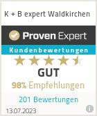 Erfahrungen & Bewertungen zu K + B expert Waldkirchen