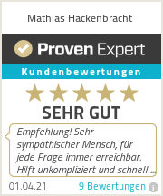 Erfahrungen & Bewertungen zu Mathias Hackenbracht