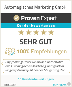 Erfahrungen & Bewertungen zu Automagisches Marketing GmbH