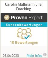 Erfahrungen & Bewertungen zu Carolin Mallmann Life Coaching
