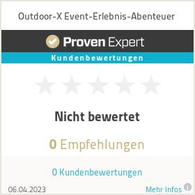 Erfahrungen & Bewertungen zu Outdoor-X Event-Erlebnis-Abenteuer