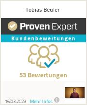 Erfahrungen & Bewertungen zu Tobias Beuler