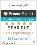 Erfahrungen & Bewertungen zu HomestagingDE