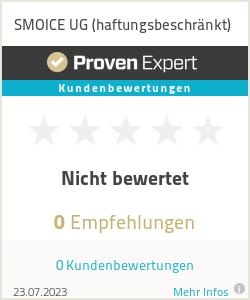 Erfahrungen & Bewertungen zu SMOICE UG (haftungsbeschränkt)
