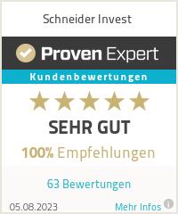 Erfahrungen & Bewertungen zu Schneider Invest