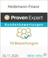 Erfahrungen & Bewertungen zu Heidemann-Finanz