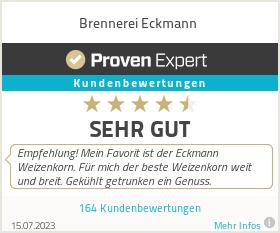 Erfahrungen & Bewertungen zu Brennerei Eckmann