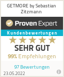 Erfahrungen & Bewertungen zu GETMORE by Sebastian Zitzmann