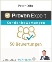 Erfahrungen & Bewertungen zu Peter Otto