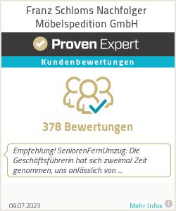 Erfahrungen & Bewertungen zu Franz Schloms Nachfolger Möbelspedition GmbH
