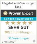 Erfahrungen & Bewertungen zu Pflegehelden® Oldenburger Land