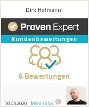 Erfahrungen & Bewertungen zu Dirk Hofmann