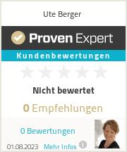 Erfahrungen & Bewertungen zu Ute Berger
