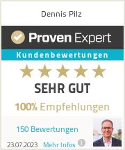 Erfahrungen & Bewertungen zu Dennis Pilz