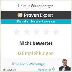 Erfahrungen & Bewertungen zu Helmut Witzenberger