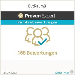 Erfahrungen & Bewertungen zu GutRaum8