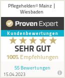 Erfahrungen & Bewertungen zu Pflegehelden® Mainz / Wiesbaden