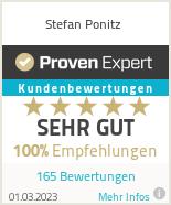 Erfahrungen & Bewertungen zu Stefan Ponitz