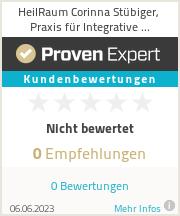 Erfahrungen & Bewertungen zu HeilRaum Corinna Stübiger, Praxis für Integrative Körper-Seelen-Arbeit