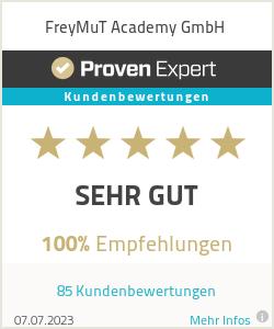 Erfahrungen & Bewertungen zu FreyMut-Academy