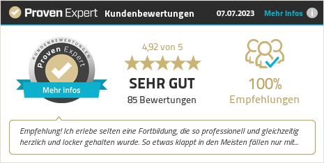 Kundenbewertungen & Erfahrungen zu FreyMuT Academy GmbH. Mehr Infos anzeigen.