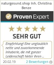 Erfahrungen & Bewertungen zu naturgesund.shop Inh. Christina Benze
