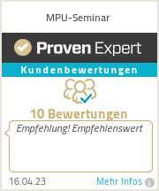Erfahrungen & Bewertungen zu MPU-Seminar