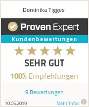 Erfahrungen & Bewertungen zu Dominika Tigges