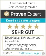 Erfahrungen & Bewertungen zu Christian Willmann Versicherungsmakler