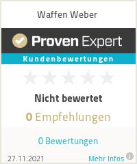 Erfahrungen & Bewertungen zu Waffen Weber & www.guns-and-more.com