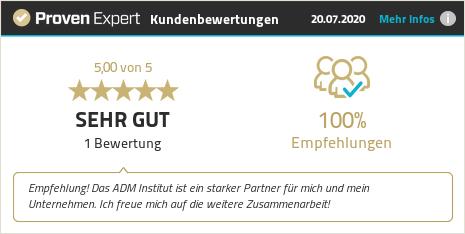 Kundenbewertungen & Erfahrungen zu ADM Institut. Mehr Infos anzeigen.
