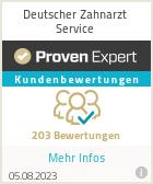 Erfahrungen & Bewertungen zu Deutscher Zahnarzt Service