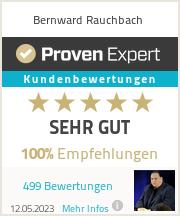 Erfahrungen & Bewertungen zu Bernward Rauchbach