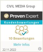 Erfahrungen & Bewertungen zu CIVIL MEDIA Group