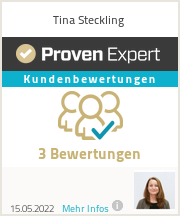 Erfahrungen & Bewertungen zu Tina Steckling