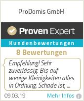 Erfahrungen & Bewertungen zu Prodomis Gebäudereinigung