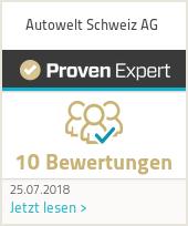 Erfahrungen & Bewertungen zu Autowelt Schweiz AG