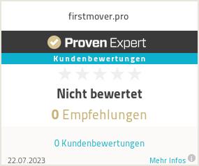 Erfahrungen & Bewertungen zu firstmover.pro