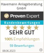 Erfahrungen & Bewertungen zu Olaf Havemann - Anlageberatung für Firmenkunden